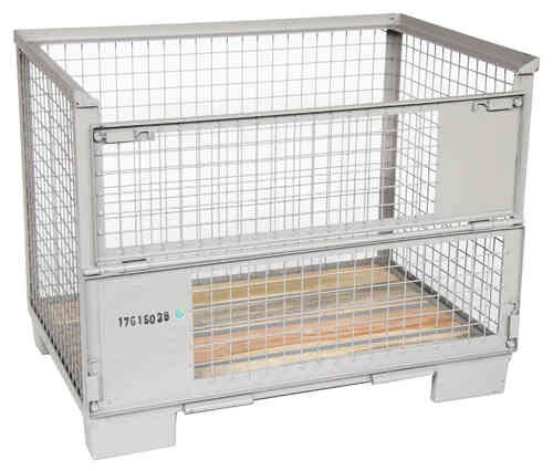 1240x835xH970 Pool wiremesh container UIC conform