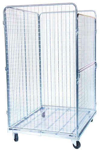 1200x 1000 Wiremesh Roll container MR1210-4S 4-sided (50)
