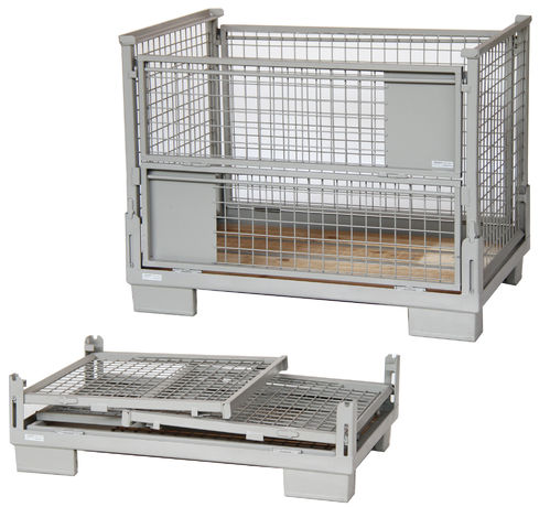 1240x835xH970 foldable wiremesh container