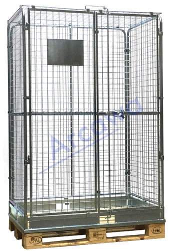 1213x813xH1900 Sicherheits- Paletten-Container
