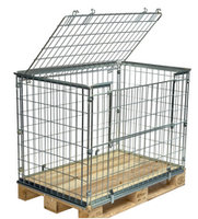 Wiremesh cages for pallets